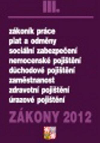 Zákony 2012 III.