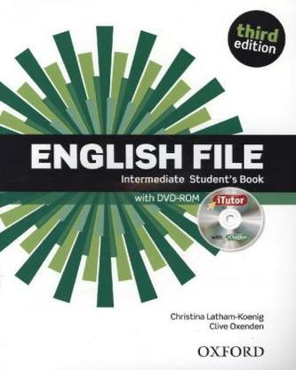 English File Intermediate Student´s Book + iTutor DVD-ROM - Christina Latham-Koenig; Clive Oxenden