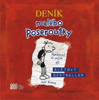 Deník malého poseroutky - audio CD - Jeff Kinney, Václav Kopta