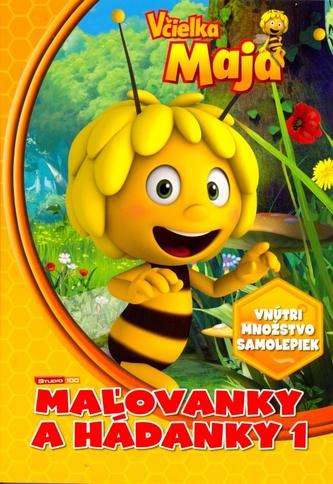 Včielka Maja mažovanky a hádanky 1