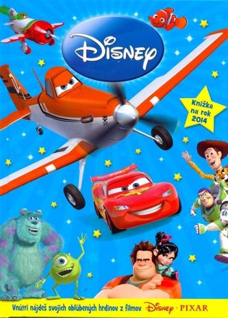 Disney Pixar Knižka na rok 2014