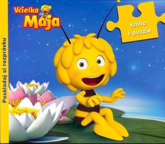 Včiežka Mája Kniha s puzzle