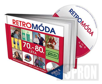 Retro Móda 70.-80. léta - DVD + kniha - neuveden