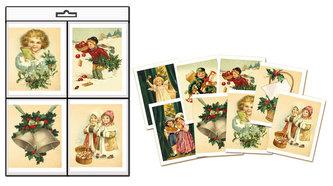 Vánoční jmenovky na dárky - Edice naší babičky 8 ks