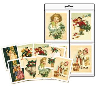 Vánoční jmenovky na dárky - Edice naší babičky 16 ks