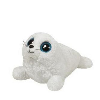 Plyš očka tuleň střední