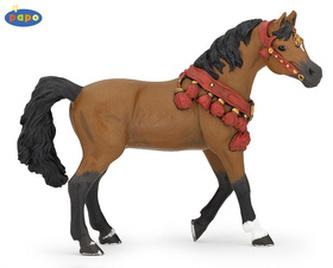 Arabský kůň s ozdbou