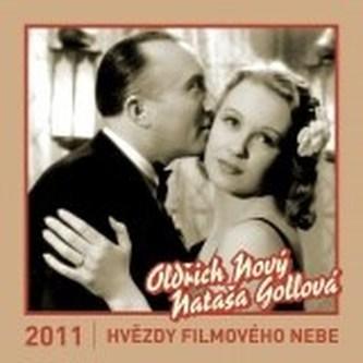 KALENDÁŘ NÁSTĚNNÝ: Hvězdy filmového nebe 2011