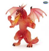 Crystal drak červený