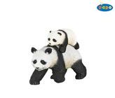 Panda s panďátkem