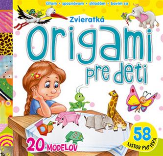 Origami pre deti Zvieratká