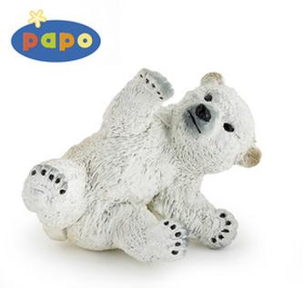 Medvěd lední mládě hrající