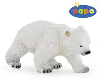 Medvěd lední mládě chodící