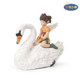 Elf Dítě s labutí