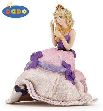 Princezna sedící