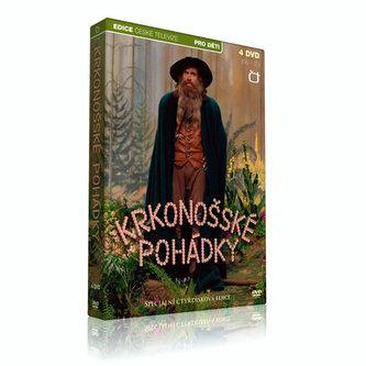 Krkonošské pohádky - 4 DVD