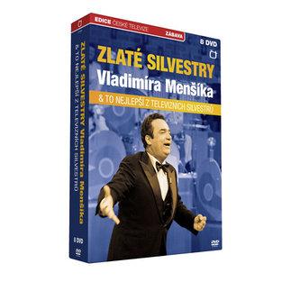 Zlaté silvestry Vladimíra Menšíka - 8 DVD