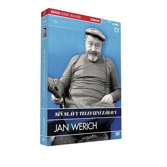 Síň slávy - Jan Werich - 4 DVD - neuveden