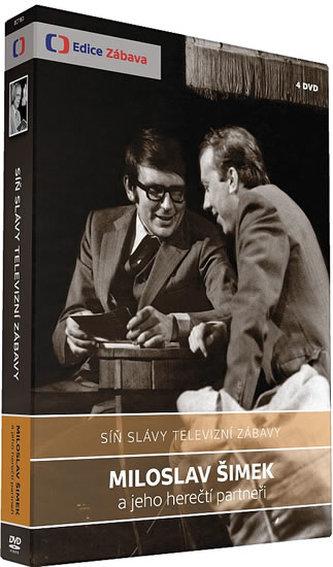 Síň slávy - Miroslav Šimek - 4 DVD