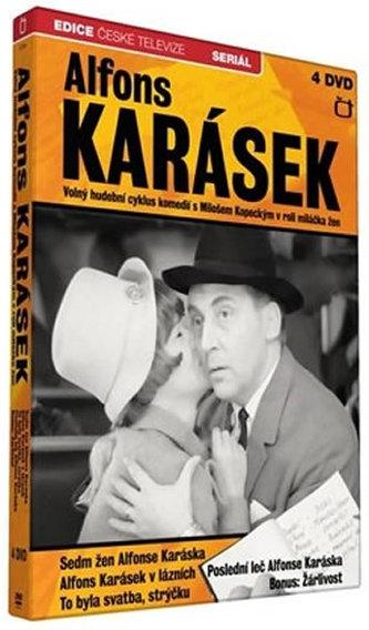 Alfons Karásek - Hudební cyklus komedií - 4 DVD