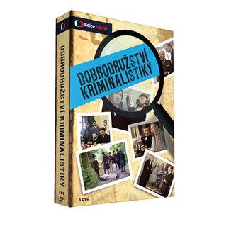 Dobroduržství kriminalistiky - 8 DVD - Edice České televize