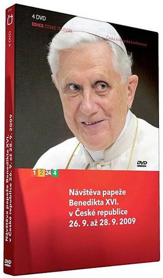Návštěva papeže Benedikta - 4 DVD