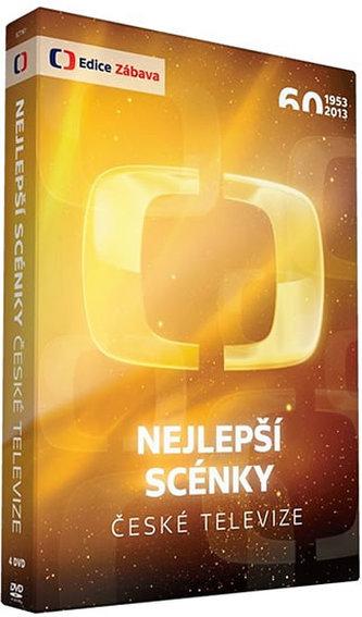 Nejlepší scénky České televize - 4 DVD - neuveden