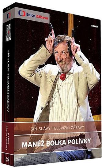 Síň slávy – Manéž Bolka Polívky - 8 DVD
