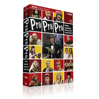 Pra Pra Pra - F. Ringo Čech - 7 DVD - neuveden
