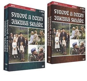 Synové a dcery Jakuba Skláře - 13 DVD