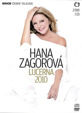 Hana Zagorová - Lucerna 2010 - 2 DVD+1CD