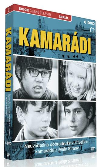 Kamarádi - 6 DVD - Edice České televize