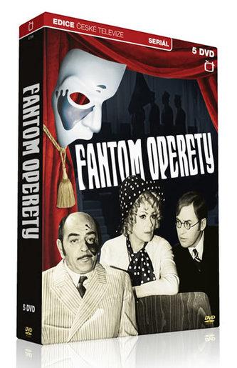 Fantom operety - 5 DVD - Edice České televize