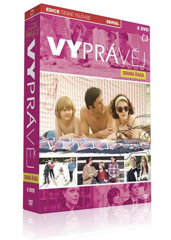 Vyprávěj - 2. řada - 8 DVD