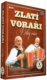 Zlatí Voraři - Díky Vám - 3 DVD