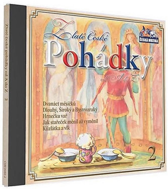 Zlaté České pohádky  2. - 1 CD