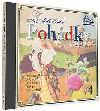 Zlaté České pohádky 4. - 1 CD - neuveden