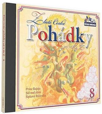 Zlaté České pohádky 8. - 1 CD - neuveden