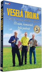 Veselá trojka - Už nám kamarádi bylo padesát - CD+DVD