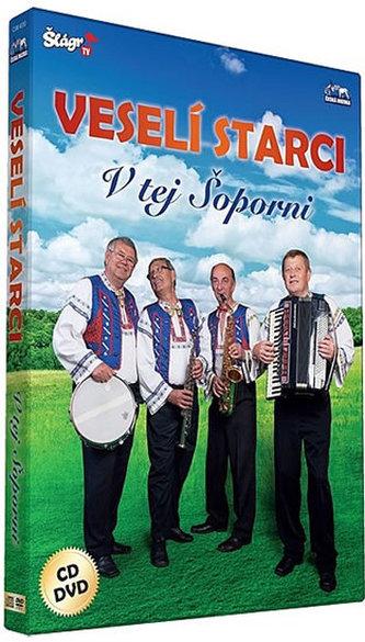 Veselí starci - V tej šoporni - CD+DVD