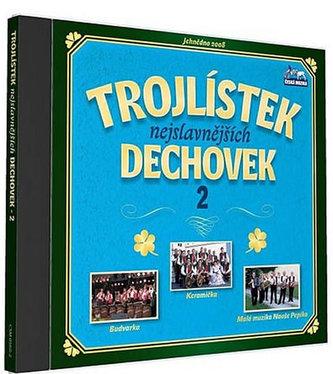 Trojlístek nejslavnějších dechovek 2. - 1 CD