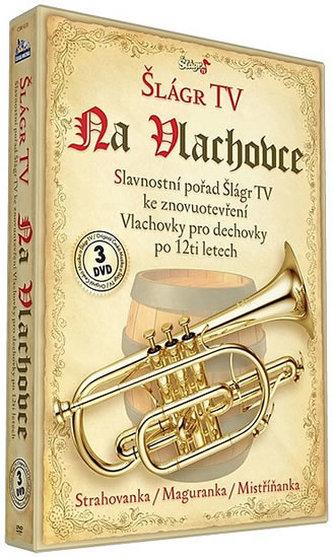 Šlágr na Vlachovce - 3 DVD