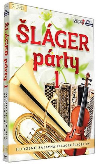 Šlágr párty 1.díl - 2 DVD