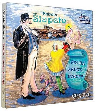 Šlapeto - Praha srdce Evropy - CD+DVD