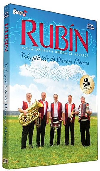 Rubín - Tak jak teče do Dunaja Morava - CD+DVD