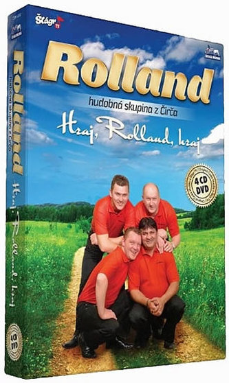 Rolland - Hraj,Rolland,hraj - 4CD+1DVD