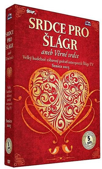 Senica - Srdce pro Šlágr - 5 DVD