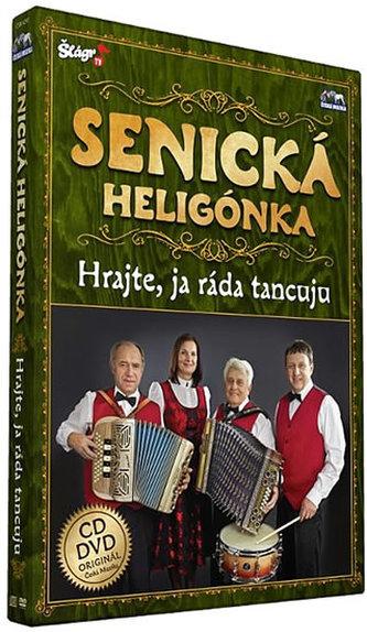 Senická heligonka - Hrajte já ráda tancuju - CD+DVD