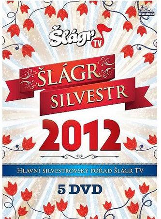 Silvestr šlágr 2012 - 5 DVD