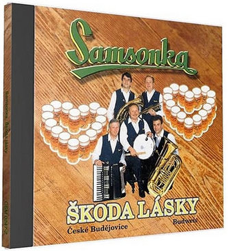 ČESKÁ MUZIKA - Samsonka - Škoda lásky - 1 CD
